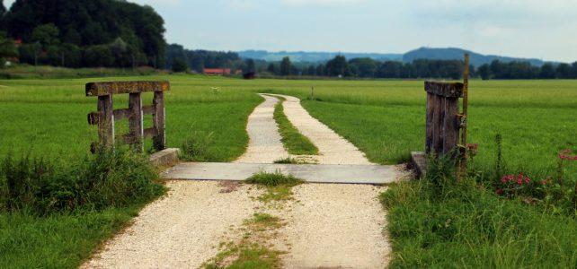 Stappenplan houten poort plaatsen